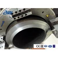 China Power / Boiler Plant Electric Pipe Cutting Beveling Machine CE / ISO Approved Split Frame on sale