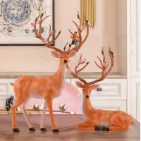 China Support Low MOQ!  European style lovery decoration deer in low price on hot sale wholesale