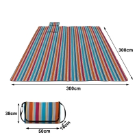 China Beach Blanket Sand Proof Outdoor Picnic Blanket Water Resistant Large Mat for Camping wholesale