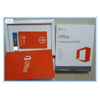 China Microsoft Windows Software / Microsoft Office 2016 Pro Plus For 1 Windows/PC Life Time wholesale