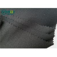 China Eco-friendly Polyester Viscose Mixed Brushed Twill Woven Fusible Interlining70gsm Bonding for Women and Men Suits wholesale