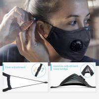 China High Filtration N95 Face Mask No Ear Pressure Lightweight  Filter Harmful Gases wholesale