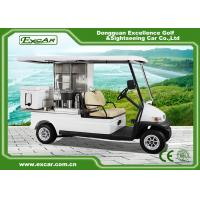 Buy cheap EXCAR 2 Seater Electric Golf Buggy Car Food Utility Cart 1 Year Warranty from wholesalers
