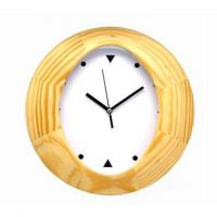 "China 10"" Wooden Wall Clock wholesale"