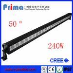 "China 50"" 240W Cree Led Light Bar! Single Row Light Bar wholesale"