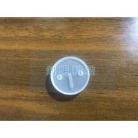China Customized Groove Sapphire Parts Single Crystal Glass Lens With Hole wholesale
