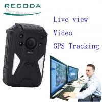 Buy cheap 36MP 1440P 4G Security Guard Wireless Live View Police Video Body Camera from wholesalers