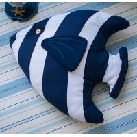 China MEDITERRANEAN-STYLE SERIES TROPICAL FISH-SHAPED PILLOW CUSHION on sale