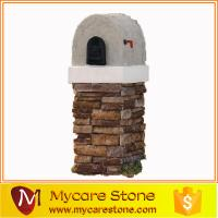 China Garden Natural stone mailbox for sale wholesale