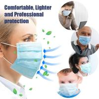 China Antibacterial Disposable Surgical Mask Splash Repellent For Medical Staff wholesale