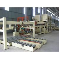 China Full Automatic MDF Production Line PLC Control Panel Thickness 6 - 40 MM wholesale