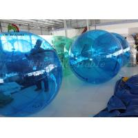China Blue 1.0 mm PVC Or TPU Water Walking ball /Water Ball With CE Approved Air Pump wholesale