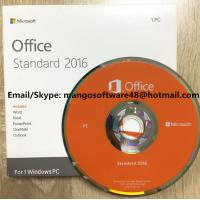 China Original Computer Software System Office 2016 Standard For 1 PC Lifetime Warranty wholesale