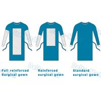 China Delta Medi Disposable Surgeon Gown , Reinforcement Protective Disposable Operating Gowns wholesale