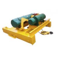 China 0.25-500t Electric Wire Rope Hoist Trolley For Double Beam Heavy Duty Crane wholesale