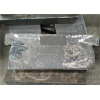 China Mn13cr2 Metal Casting Parts , Coal Grinding Wear Plate For Power Plant wholesale