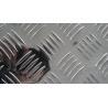 China Custom Diamond Aluminum Tread Sheet  3003 H224 Aluminum Checkered Plate wholesale