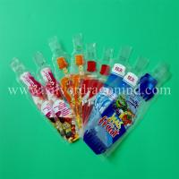 Buy cheap Custom plastic beverage bags 100ml, 200ml,300ml, drink bags and water bags, made from wholesalers