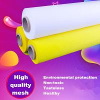 China 100% Polyester Silk Screen Printing Mesh Low Elasticity 7T - 165T Alkali Resistance wholesale