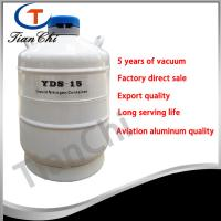 Quality 15L Liquid nitrogen storage container manufacturer 5 years of vacuum for sale
