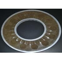 China Brass Wire Mesh Filter Disc Supporting For Filtering , 20-200 Micron wholesale