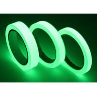 China Strong Adhesion Glow In The Dark Adhesive Tape For Theatre Stage Illuminate In Night on sale