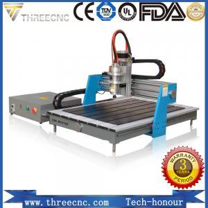 China China Advertising cnc router 6090 / mini wood design cutting machine for PCB /PVC/ Aluminum/Copper TMG6090-THREECNC wholesale