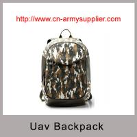 Camouflage PU Unmanned Aerial Vehicle (UAV) Drone backpack style carry bag Manufactures