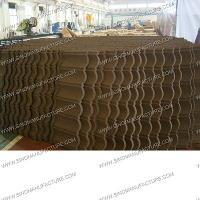 China anti-fire stone coated metal roof tile wholesale