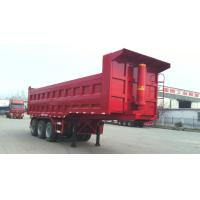 Buy cheap 40T-100T 2 Axles or 3 axles heavy load dump tipping semi trailer truck ,  dump tractor trailer from wholesalers