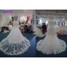 China Fashion Princess Mermaid Wedding Dresses / Women Maxi Tulle Mermaid Bridal Gowns wholesale