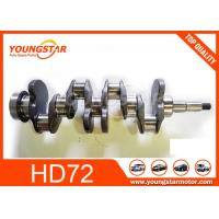 Buy cheap 4D34T Engine Crankshaft 23100-45000 683mm Length 30 KGS For Hyundai HD72 from wholesalers