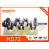 Buy cheap 4D34T Engine Crankshaft 23100-45000 683mm Length 30 KGS For Hyundai HD72 from wholesalers