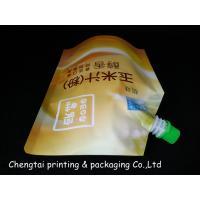 China Safty Food Grade Stand Up Pouch With Spout / Stand Up Packaging Pouches wholesale