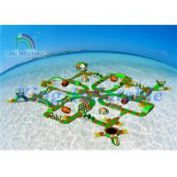 China Lake Sea Floating Obstacle Course / Inflatable Water Park Games For Resort wholesale