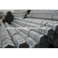 China NO SOCKED BS1387 THREAD HOT DIP GALVANIZED STEEL PIPE 6-12M factory wholesale