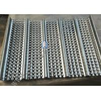 China 0.23mm Thickness Galvanized High Ribbed Formwork  For Building 2m Length wholesale
