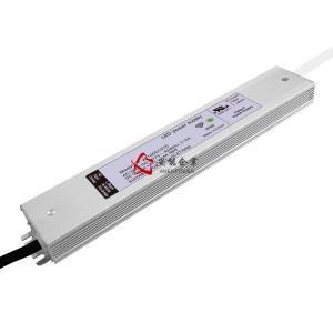 China 100W Max 100-270V Input Slim 24volt IP67 Waterproof LED Swith Lighting Power Supply 12V 36volt LED Driver Transformer wholesale