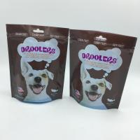 China zip lock food packaging compound plastic bags , dog packaging bag on sale