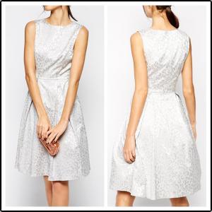 China Girls fahsion sleevelessjaquard casual Dress, party/prom dress on sale
