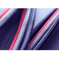 China Abrasion Resistant Braided Nylon Sleeve Thermal Insulation For Military Industry wholesale