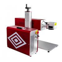 China Portable RF Metal Tube CO2 Laser Marking Machine For Leather Wood Engraving wholesale