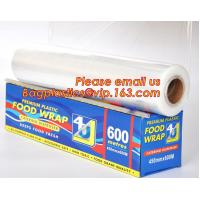 China Newly design household food grade excellent quality factory price cling film, pe food plastic wrap wholesale