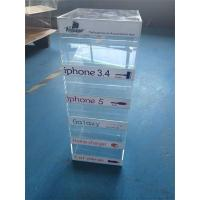 acrylic counter display for charger/ mobile phone charger display stand