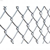 China Hot Dipped Galvanized Custom Wire Mesh Easily Assembled Chain Link Fence For Sports Field wholesale