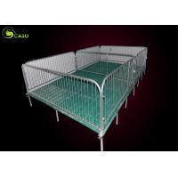 China Easy Install Pig Weaning Pen Galvanized Swine Nursery Pens 2.5 Steel Tube wholesale