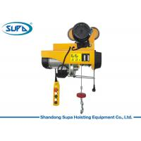 China 200kg PA Type Small Electric Hoist Wire Rope Sling With Remote Control on sale