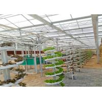 China Modern Agricultural Production Hydroponic Greenhouse 150 / 200mic Greenhouse Covering wholesale