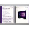 China Computer System Windows 10 Pro Retail Box , Windows 10 Pro OEM Pro Pack 32 / 64 Bit wholesale
