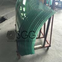China Curved Tempered Glass 4/5/6/8/10/12/15/19mm Ultra CLear Bronze Blue Gray Green Dark Light wholesale